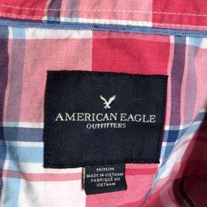 American Eagle Long Sleeve Botton Up Shirts